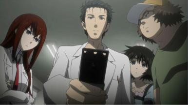 steinsgate-06-everyone-okarin-kurisu-mayuri-itaru-cell_phone