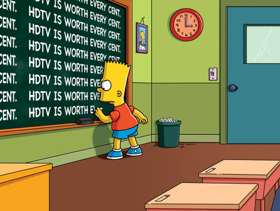 How do The Simpsons reflect reality?