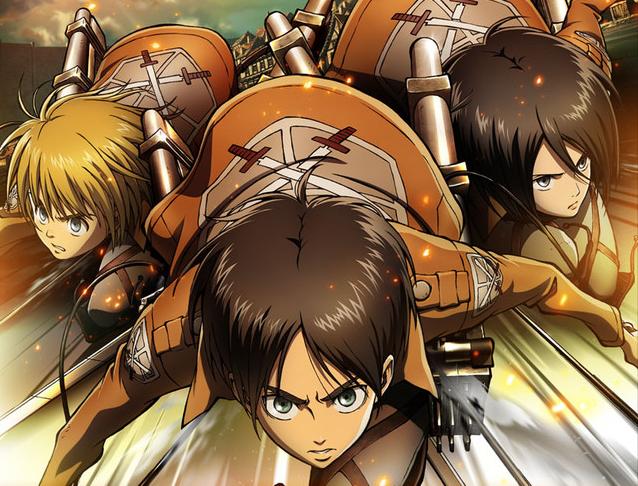 Shingeki no Kyojin (L'attaque des titans) dans Mangas attack-on-titan-banner-1