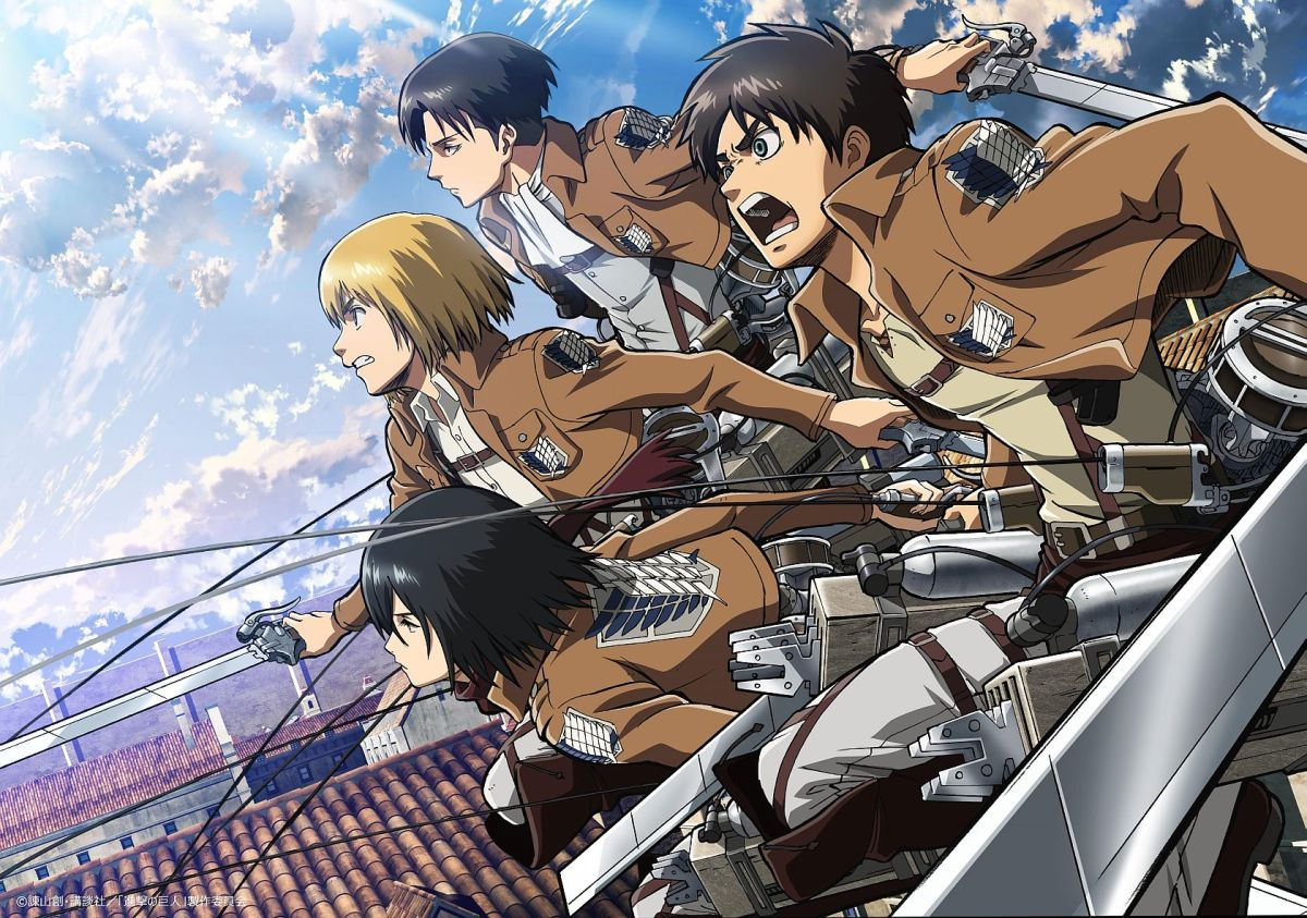 Anime Review: Attack On Titan (2013)