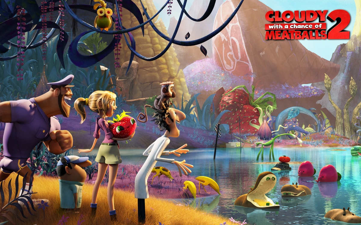 Film Review: Cloudy With a Chance of Meatballs 2 (2013)