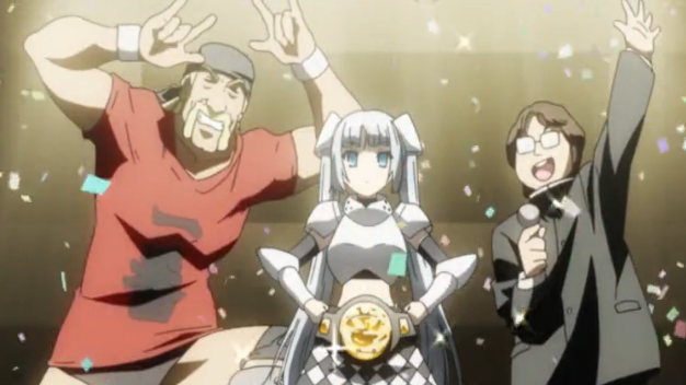 Miss-Monochrome-and-familiar-wrestler