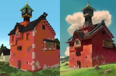 Spirited Away - Minecraft