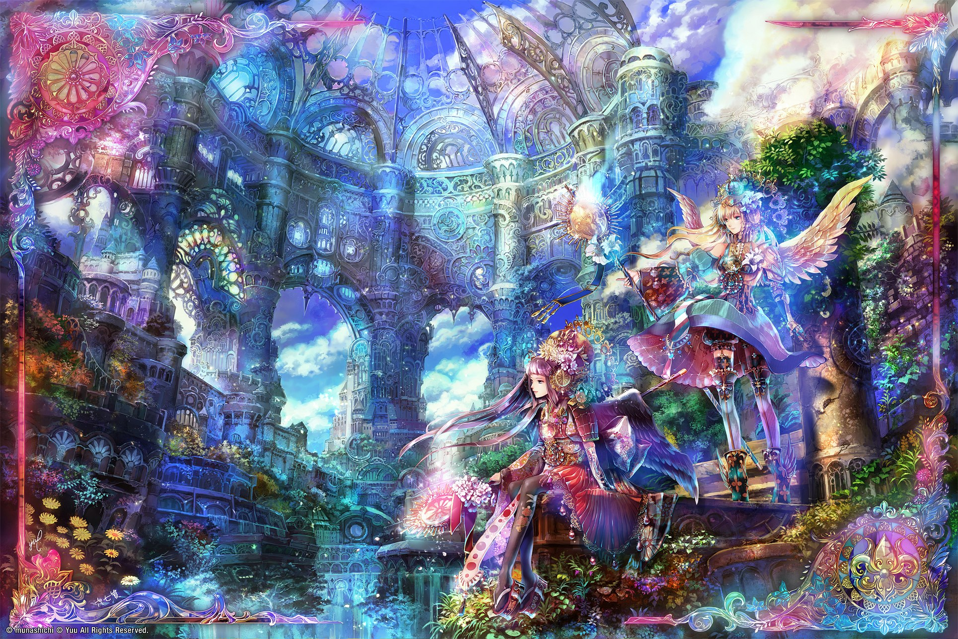 Anime Scenery Wallpaper 1929x1287