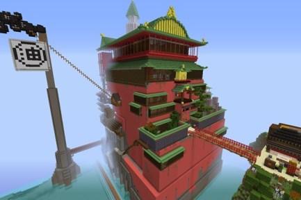 Spirited Away - Minecraft
