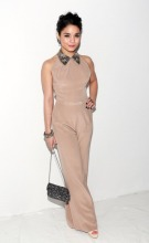 Jenny Packham - Front Row & Backstage - Fall 2013 Mercedes-Benz Fashion Week