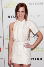 "The Cinema Society With Lancome & Nylon Host A Screening Of ""The Perks Of Being A Wallflower"" - Arrivals"