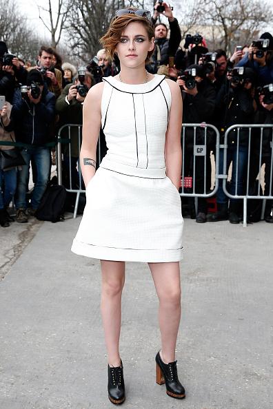 Chanel : Outside Arrivals – Paris Fashion Week – Haute Couture S/S2015