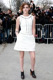 Chanel : Outside Arrivals - Paris Fashion Week - Haute Couture S/S 2015