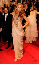 """Blake Lively attends the """"Alexander McQueen: Savage Beauty"""" Costume Institute Gala at The Metropolitan Museum of Art on May 2, 2011 in New York City."""