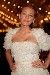 CAP D'ANTIBES, FRANCE - MAY 08: Actress Blake Lively arrives to the Chanel Resort dinner for the launch of Chanel's latest Collection Croisiere 2012 on May 8, 2011 in Cap d'Antibes, France. (Photo by Kristy Sparow/Getty Images)