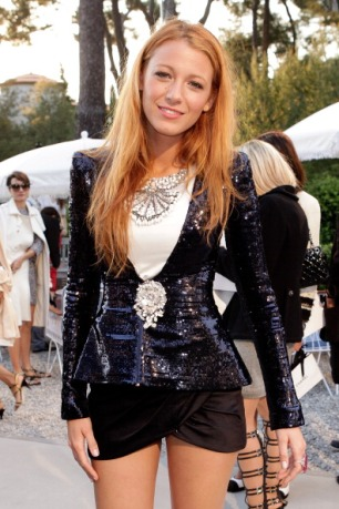 Blake Lively attends the Chanel 'Collection Croisiere Show 2011/12' at Hotel du Cap on May 9, 2011 in Cap d'Antibes, France.