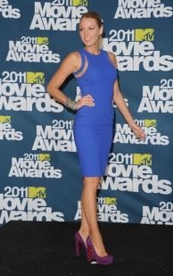 LOS ANGELES, CA - JUNE 05: Actress Blake Lively poses in the press room during the 2011 MTV Movie Awards at Universal Studios' Gibson Amphitheatre on June 5, 2011 in Universal City, California. (Photo by Jason Merritt/Getty Images)