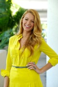 """Blake Lively at the """"Green Lantern"""" Press Conference at The Beverly Hilton Hotel on June 7, 2011 in Beverly Hills, California."""