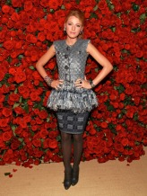 """NEW YORK, NY - NOVEMBER 15: Actress Blake Lively attends the Museum of Modern Art's 4th Annual Film benefit """"A Tribute to Pedro Almodovar"""" at the Museum of Modern Art on November 15, 2011 in New York City. (Photo by Charles Eshelman/FilmMagic)"""