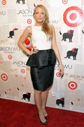 NEW YORK, NY - JANUARY 26: Actress Blake Lively attends the Jason Wu For Target launch at Skylight SOHO on January 26, 2012 in New York City. (Photo by Marc Stamas/Getty Images)