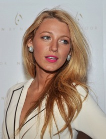 NEW YORK, NY - FEBRUARY 15: Actress Blake Lively attends the Noon By Noor Fall 2012 presentation during Mercedes-Benz Fashion Week at Provocateur on February 15, 2012 in New York City. (Photo by Henry S. Dziekan III/WireImage)