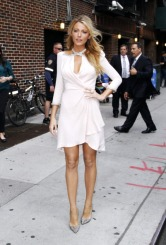 """NEW YORK, NY - JUNE 26: Blake Lively arrives for """"The Late Show with David Letterman"""" at Ed Sullivan Theater on June 26, 2012 in New York City. (Photo by Donna Ward/Getty Images)"""