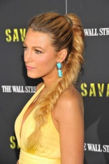 "NEW YORK, NY - JUNE 27: Actress Blake Lively attends the ""Savages"" New York premiere at SVA Theater on June 27, 2012 in New York City. (Photo by Stephen Lovekin/Getty Images)"