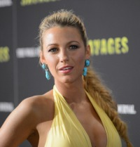 "NEW YORK, NY - JUNE 27: Actress Blake Lively attends the ""Savages"" New York Premiere at SVA Theater on June 27, 2012 in New York City. (Photo by Dimitrios Kambouris/WireImage)"