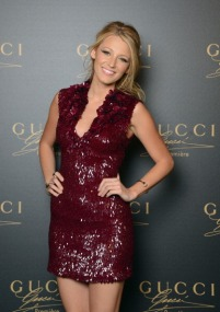 VENICE, ITALY - SEPTEMBER 01: Actress Blake Lively attends the Gucci Premiere Fragrance Launch at Hotel Cipriani on September 1, 2012 in Venice, Italy. (Photo by Venturelli/Getty Images for P&G Prestige)