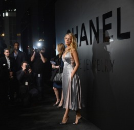 NEW YORK, NY - OCTOBER 09: Actress Blake Lively attends Chanel Bijoux de Diamant 80th Anniversary on October 9, 2012 in New York City. (Photo by Dimitrios Kambouris/WireImage)