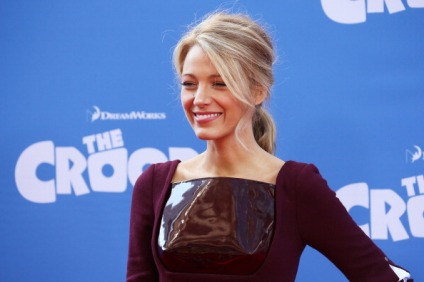 """NEW YORK, NY - MARCH 10: Actress Blake Lively attends """"The Croods"""" premiere at AMC Loews Lincoln Square 13 theater on March 10, 2013 in New York City. (Photo by Neilson Barnard/Getty Images)"""