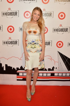 TORONTO, ON - MARCH 27: Actress Blake Lively attends the opening of Target At Shoppers World Danforth on March 27, 2013 in Toronto, Canada. (Photo by George Pimentel/WireImage)