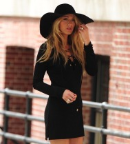 NEW YORK, NY - MAY 07: Blake Lively is seen doing a photo shoot in the West Village on May 7, 2013 in New York City. (Photo by Alo Ceballos/FilmMagic)