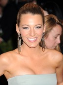 "NEW YORK, NY - MAY 06: Blake Lively attends the Costume Institute Gala for the ""PUNK: Chaos to Couture"" exhibition at the Metropolitan Museum of Art on May 6, 2013 in New York City. (Photo by Jennifer Graylock/FilmMagic)"