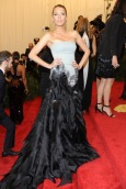 """NEW YORK, NY - MAY 06: Blake Lively attends the Costume Institute Gala for the """"PUNK: Chaos to Couture"""" exhibition at the Metropolitan Museum of Art on May 6, 2013 in New York City. (Photo by Rabbani and Solimene Photography/WireImage)"""