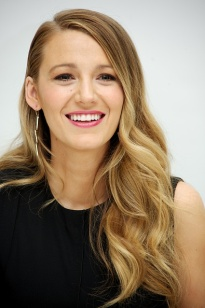"""BEVERLY HILLS, CA - APRIL 12: Blake Lively at the """"Age Of Adaline"""" Press Conference at the Four Seasons Hotel on April 12, 2015 in Beverly Hills, California. (Photo by Vera Anderson/WireImage)"""