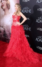 NEW YORK - APRIL 19: Blake Lively at the 'The Age of Adaline' premiere at AMC Loews Lincoln Square 13 theater on April 19, 2015 in New York City. PHOTOGRAPH BY Photo Image Press / Barcroft Media (Photo credit should read Photo Image Press / Barcroft Med via Getty Images)