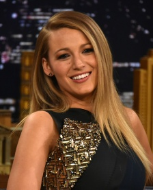 "NEW YORK, NY - APRIL 21: Blake Lively Visits ""The Tonight Show Starring Jimmy Fallon"" at Rockefeller Center on April 21, 2015 in New York City. (Photo by Theo Wargo/NBC/Getty Images for ""The Tonight Show Starring Jimmy Fallon"")"