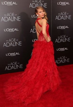 """NEW YORK, NY - APRIL 19: Actress Blake Lively attends """"The Age of Adaline"""" premiere at AMC Loews Lincoln Square 13 theater on April 19, 2015 in New York City. (Photo by Taylor Hill/FilmMagic)"""