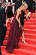 """CANNES, FRANCE - MAY 14: Blake Lively attends the opening ceremony and """"Grace of Monaco"""" premiere at the 67th Annual Cannes Film Festival on May 14, 2014 in Cannes, France. (Photo by George Pimentel/WireImage)"""