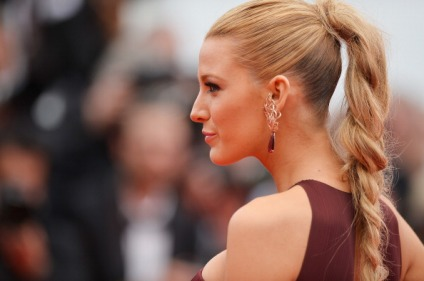 "CANNES, FRANCE - MAY 14: Actress Blake Lively attends the Opening Ceremony and the ""Grace of Monaco"" premiere during the 67th Annual Cannes Film Festival on May 14, 2014 in Cannes, France. (Photo by Pascal Le Segretain/WireImage)"