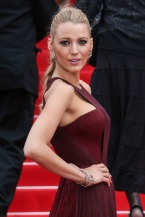 """CANNES, FRANCE - MAY 14: Blake Lively attends the opening ceremony and """"Grace of Monaco"""" premiere at the 67th Annual Cannes Film Festival on May 14, 2014 in Cannes, France. (Photo by Tony Barson/FilmMagic)"""