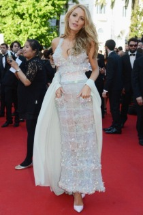 "CANNES, FRANCE - MAY 15: Actress Blake Lively attends the ""Mr Turner"" premiere during the 67th Annual Cannes Film Festival on May 15, 2014 in Cannes, France. (Photo by Traverso/L'Oreal/Getty Images)"