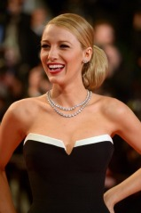 "CANNES, FRANCE - MAY 16: Actress Blake Lively attends the ""Captives"" Premiere at the 67th Annual Cannes Film Festival on May 16, 2014 in Cannes, France. (Photo by Dominique Charriau/Le Film Francais/WireImage)"