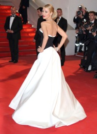 """CANNES, FRANCE - MAY 16: Blake Lively attends """"Captives"""" Premiere at the 67th Annual Cannes Film Festival on May 16, 2014 in Cannes, France. (Photo by Mike Marsland/WireImage)"""