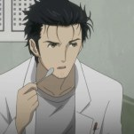 steinsgate-11-okabe-serious-spoon-pudding