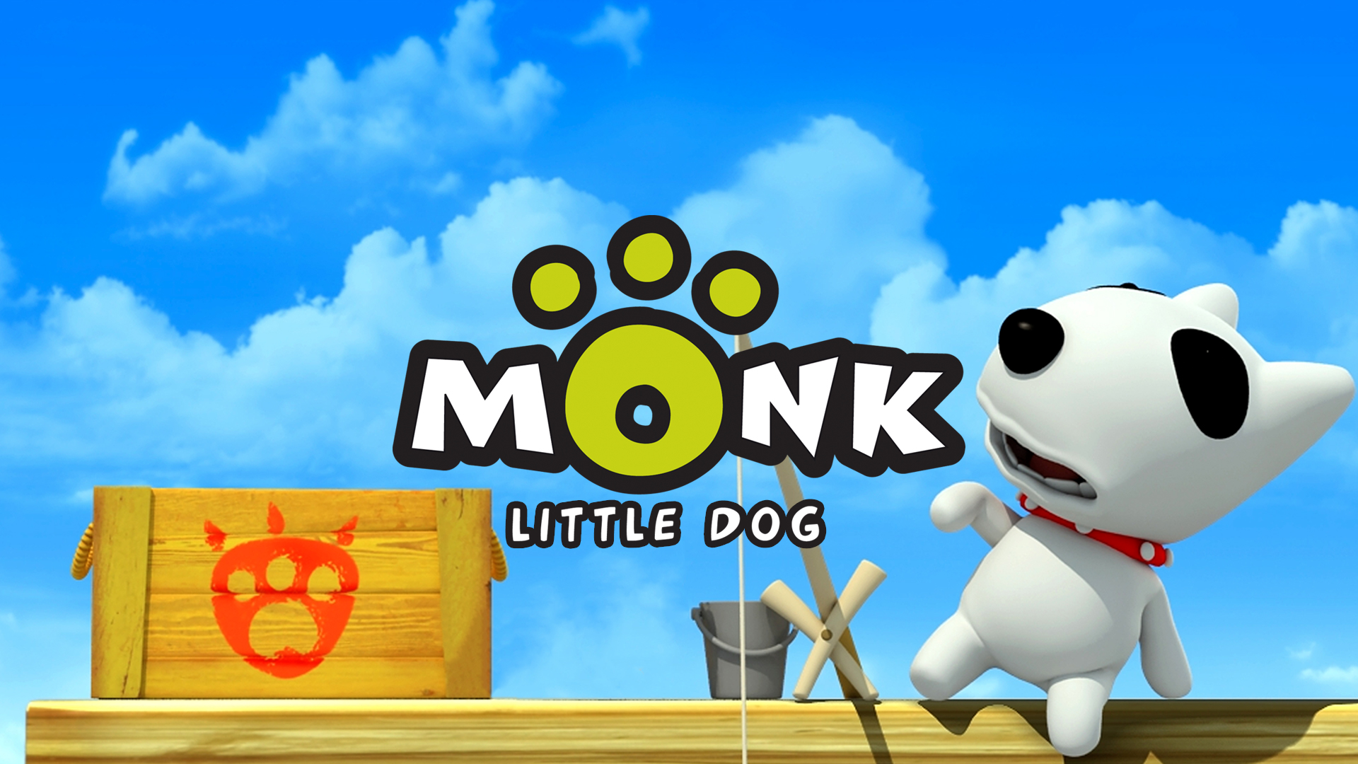 Geek It! Animation Flashback: Monk Little Dog