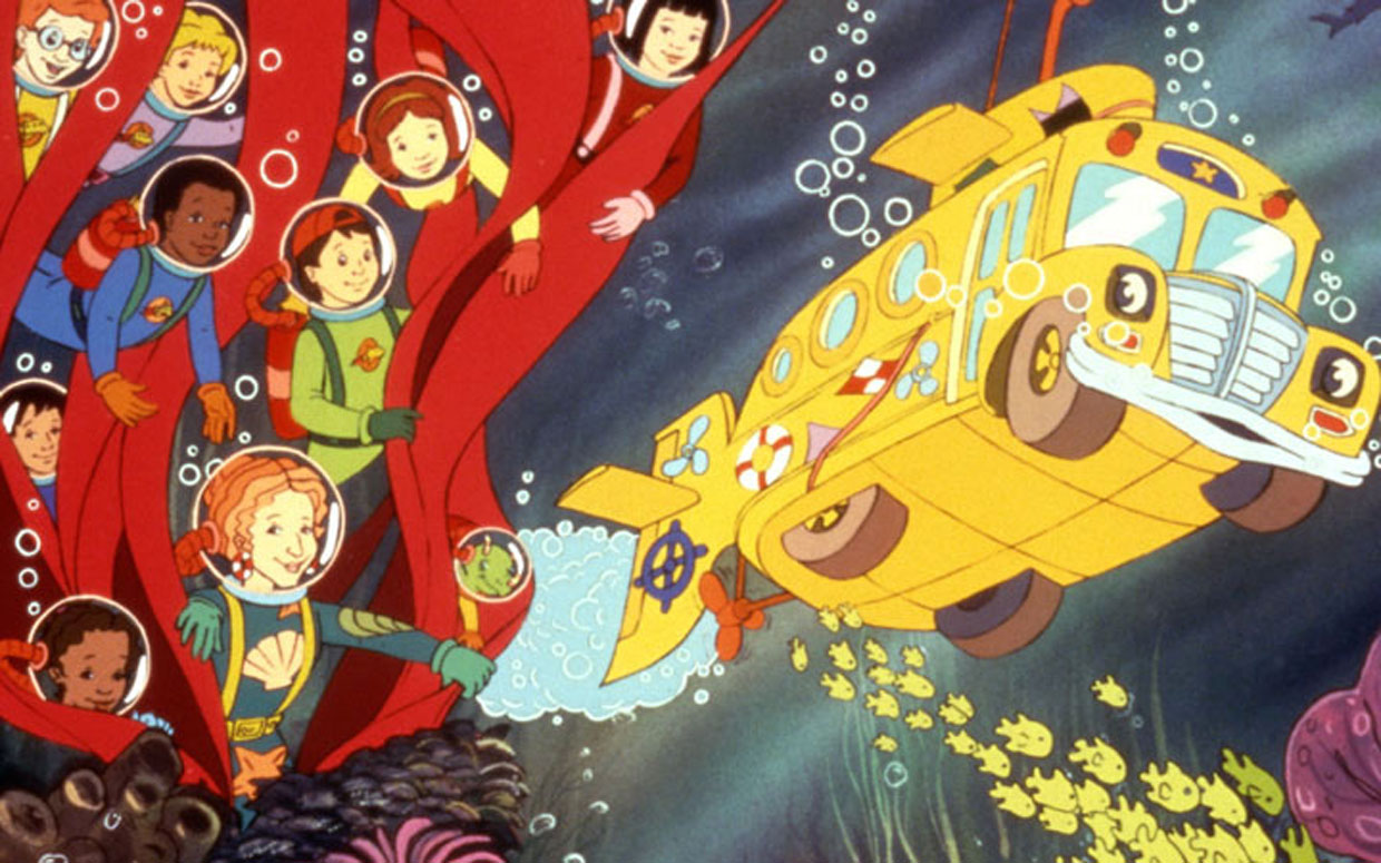 Geek It! Animation Spotlight: Magic School Bus