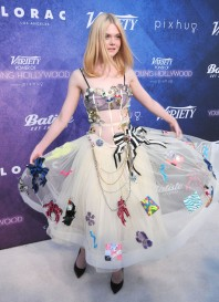 LOS ANGELES, CA - AUGUST 16: Actress Elle Fanning attends Variety's Power of Young Hollywood event, presented by Pixhug, with Platinum Sponsor Vince Camuto at NeueHouse Hollywood on August 16, 2016 in Los Angeles, California. (Photo by Barry King/Getty Images)