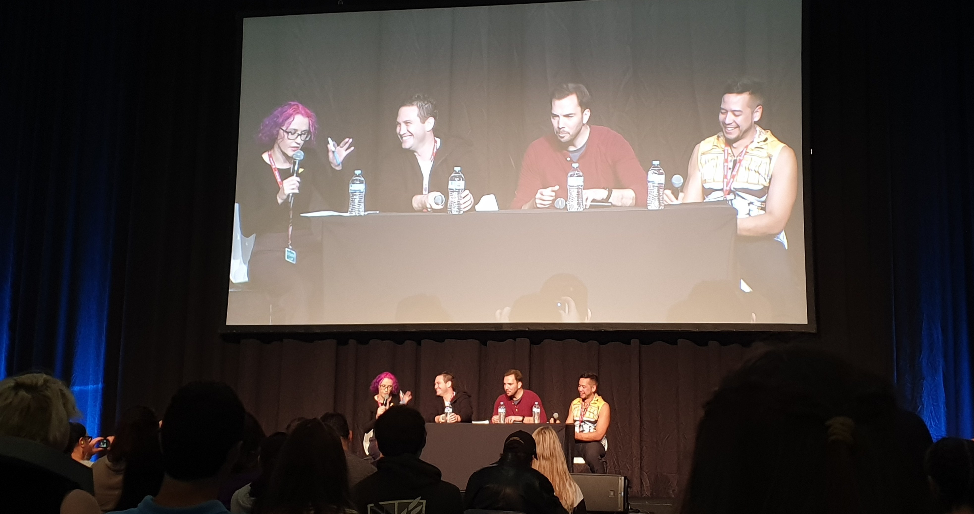 Geek It! Anime Festival Sydney 2020: VA Panel with Bryce Papenbrook, David Matranga and Ricco Fajardo