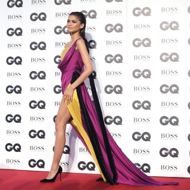 LONDON, ENGLAND - SEPTEMBER 05: Zendaya attends the GQ Men of the Year awards at Tate Modern on September 5, 2018 in London, England. (Photo by Mike Marsland/Mike Marsland/WireImage)