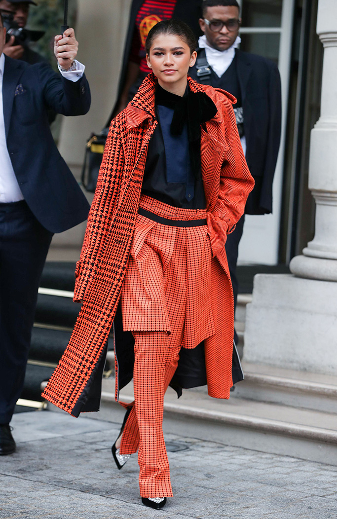 Zendaya out and about, Paris Fashion Week, France – 01 Mar 2019