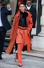 Mandatory Credit: Photo by Beretta/Sims/REX/Shutterstock (10124331b) Zendaya Zendaya out and about, Paris Fashion Week, France - 01 Mar 2019