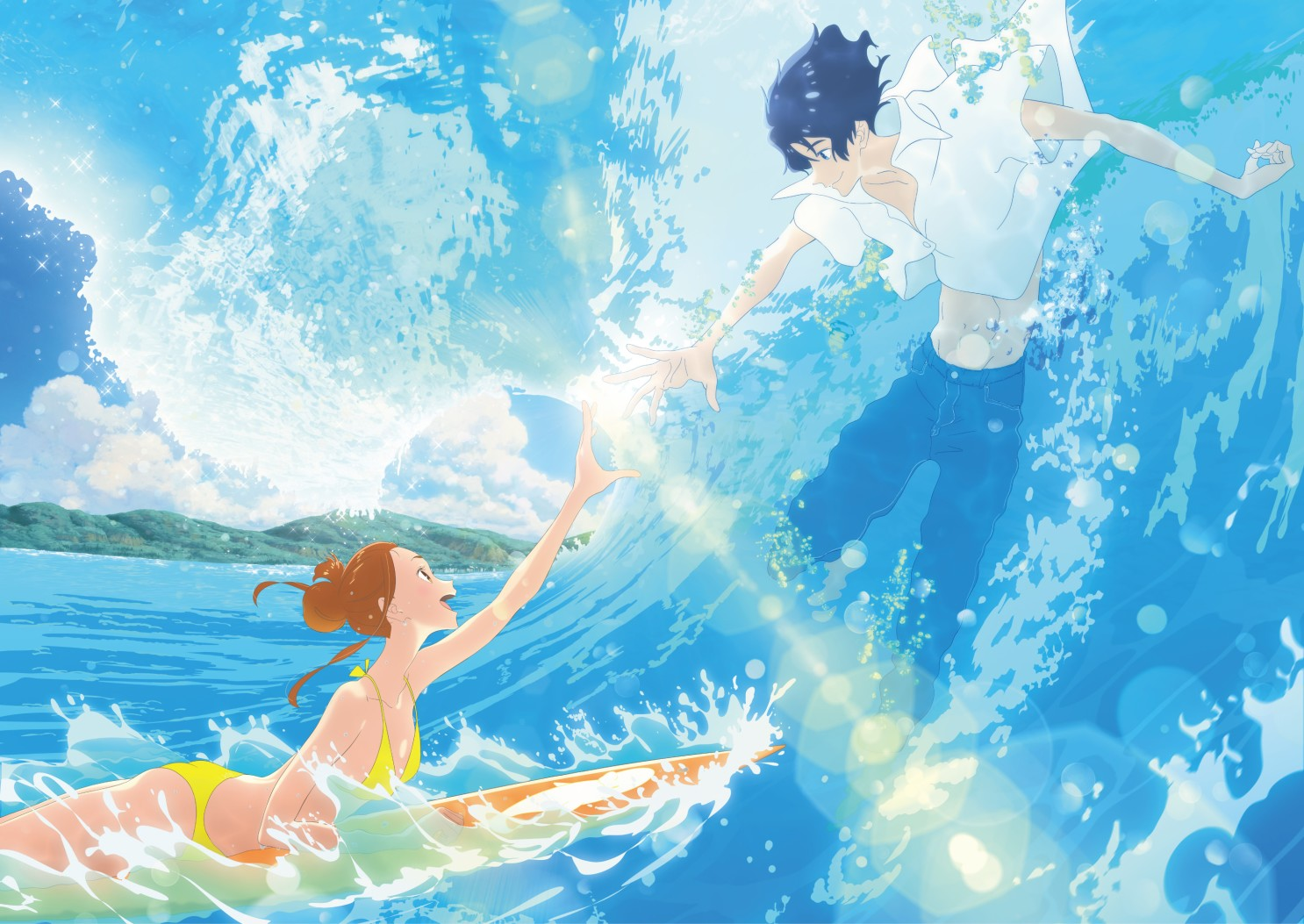 Geek It! Anime Film Review: Ride Your Wave (2019)
